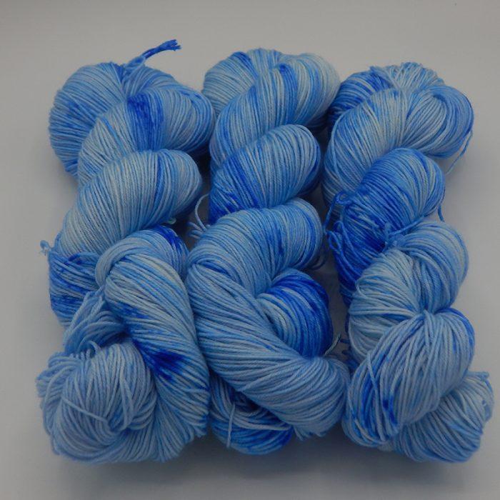 Auto Sock Blue On Blue