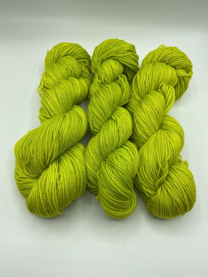 cadillac sock sunny chartreuse